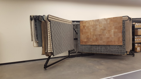Large Customer Rug Display/Rack